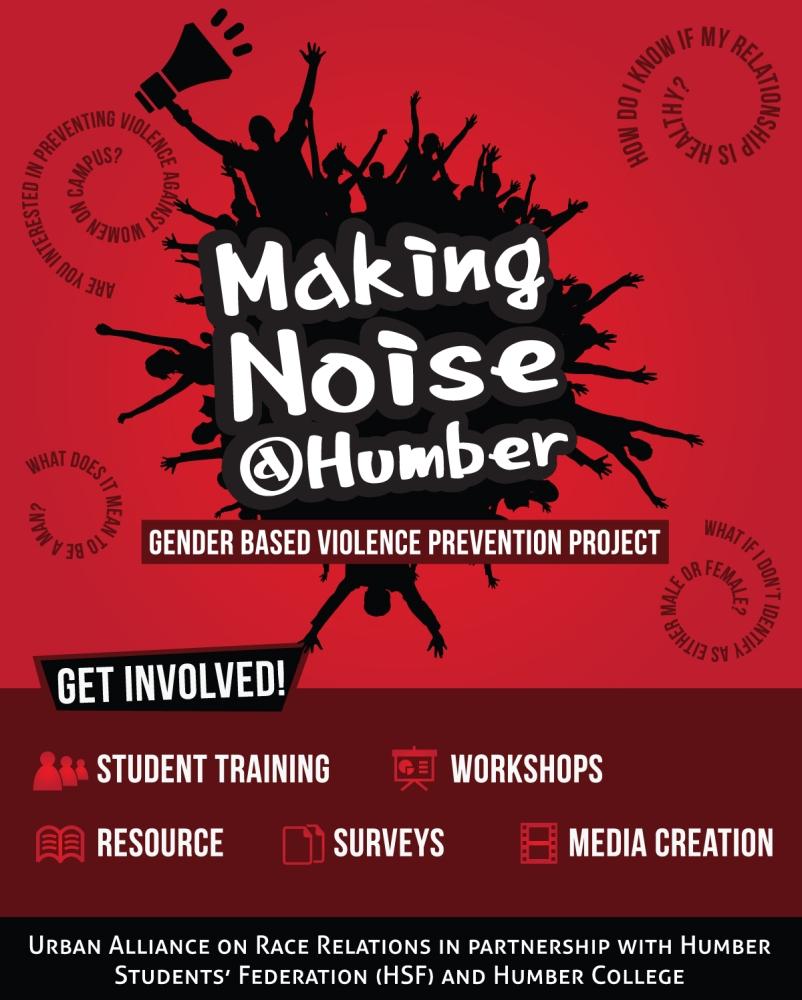 Making Noise @Humber Gender Based Violence Prevention Project (1/3)