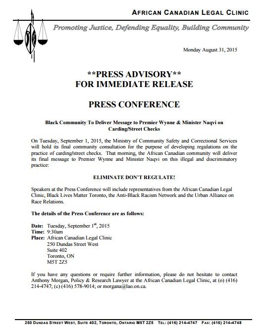 website press release